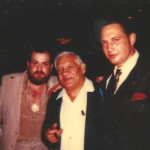 Ray Mancini Sr with Lynn Lustig and Gary Horvath